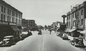 Photo looking south on Baker Street from Kentucky