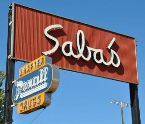 Saba's sign