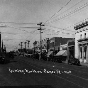 The First Bank of Kern, 801 Baker Street, built circa 1902.