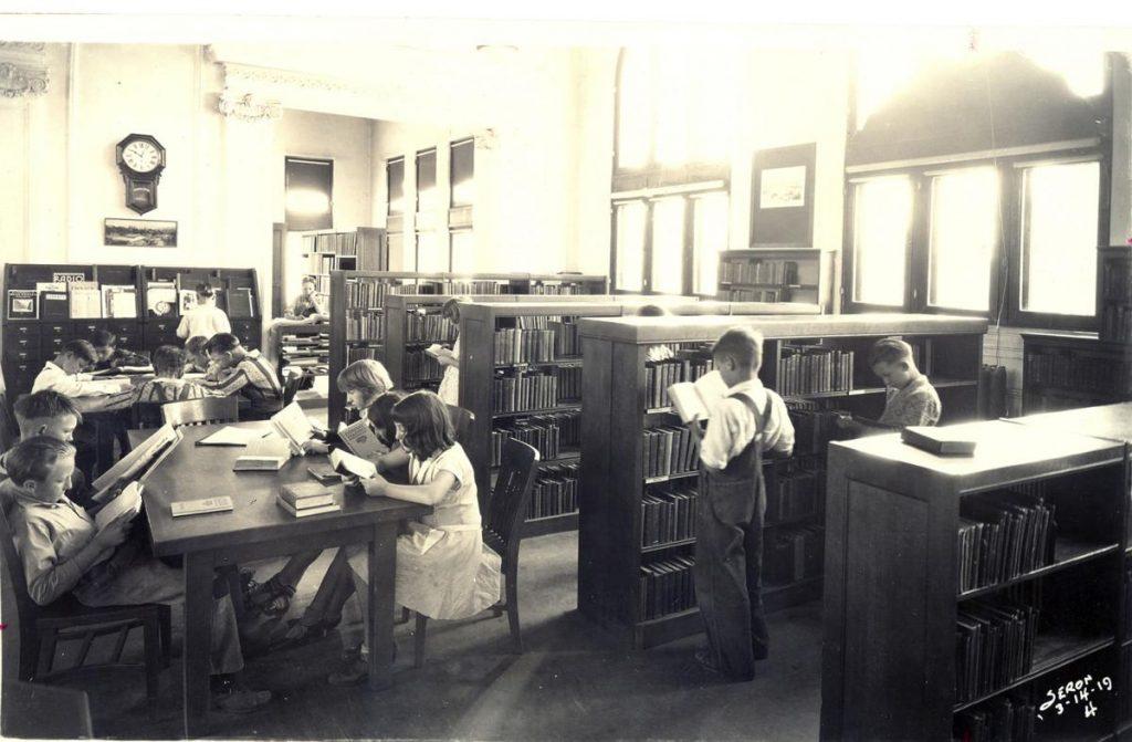 Baker Street Library 1919