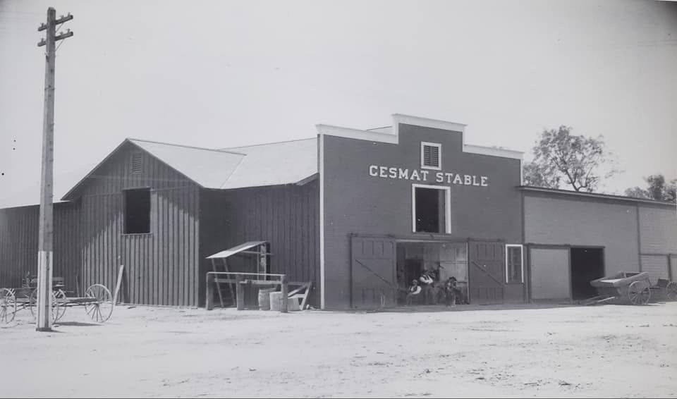 Cesmat Stable - The stable was consumed in the 1898 Sumner fire but the hotel survived. The stable was rebuilt immediately after the fire.