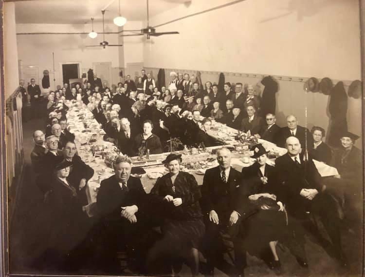 Brotherhood of Locomotive Engineers. ( Southern Pacific RR) Banquet Bakersfield CA Nov. 1938