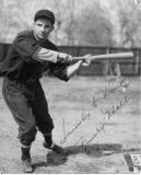 "Bernard Bartholomew ""Frenchy"" Uhalt, Oaks Outfielder, 5' 10"", 180 lbs."