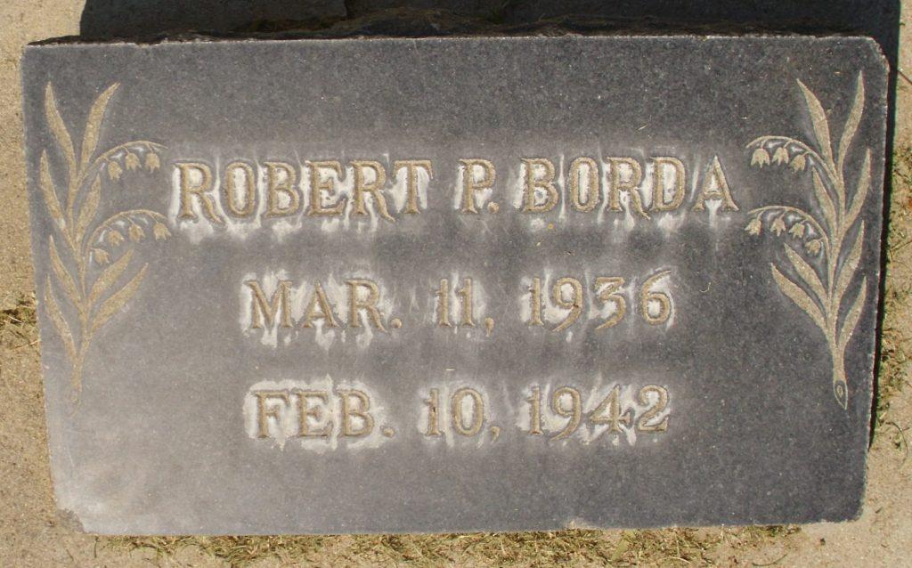 Robert P. Borda Mar. 11, 1936 Feb. 10, 1942