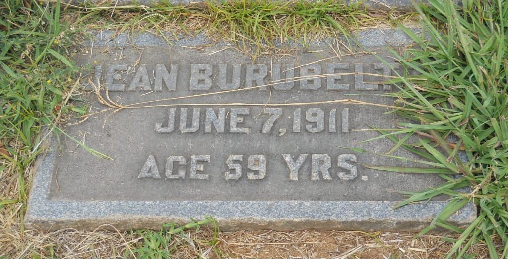 Jean Burubeltz June 7, 1911 Age 59 Yrs.