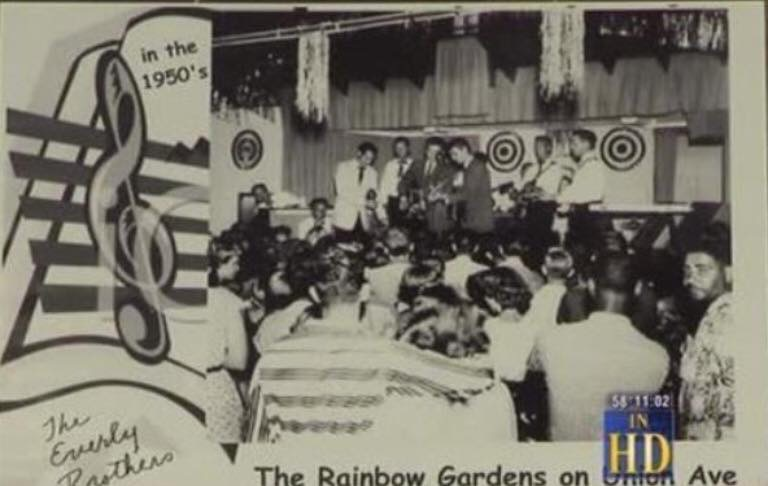 The Everly Brothers circa 1950s at the Rainbow Gardens on Union Avenue
