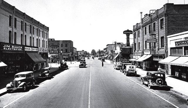 Street view of East Bakersfield