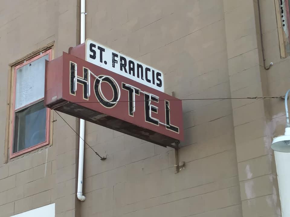Signage St. Francis Hotel