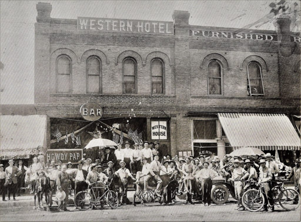 Western Hotel about 1915