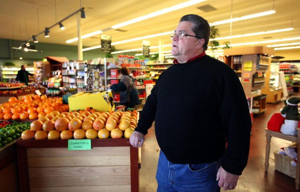 Green Frog Market President Scott Hair - Henry A. Barrios / The Californian