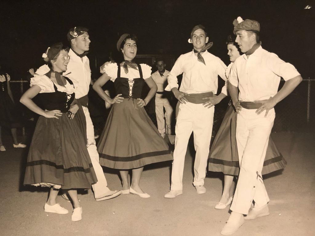 Basque dancers Frank Maitia
