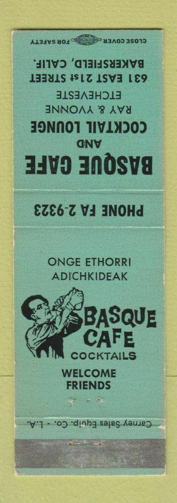 basque-cafe-matchbook