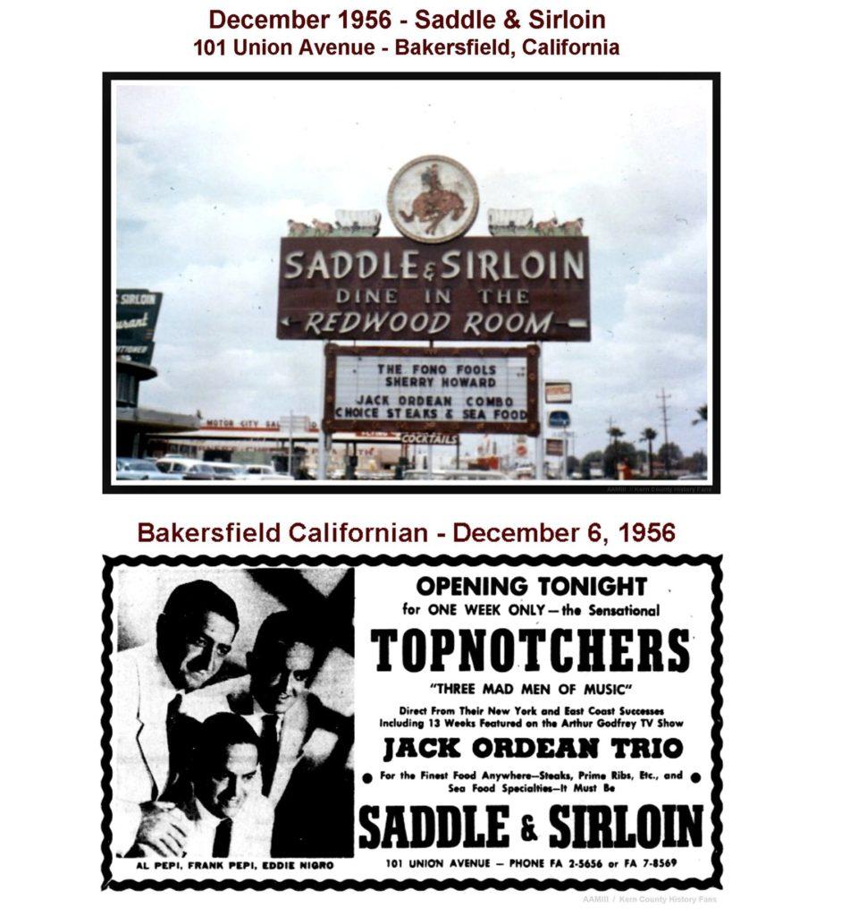 Saddle & Sirloin advertisement